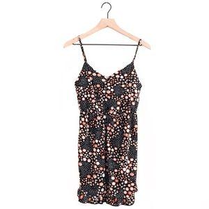 TOPSHOP • petite floral polka dot mini dress